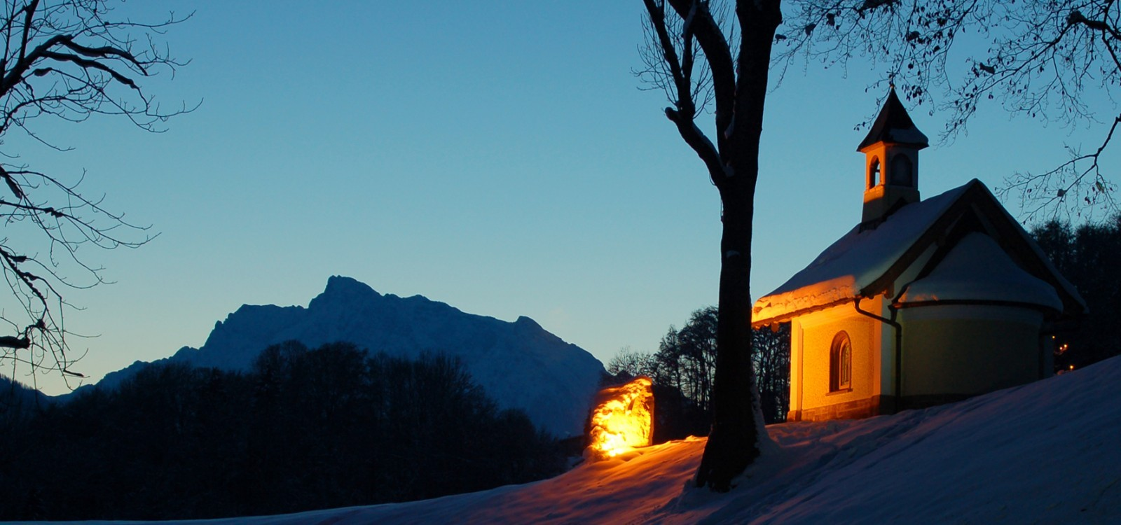 Kapelle Winter Ramsau