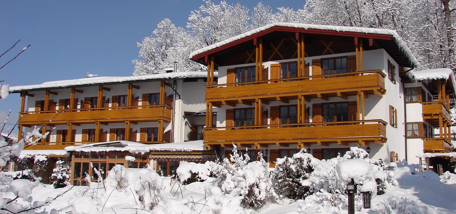 Hotel Georgenhof im Winter