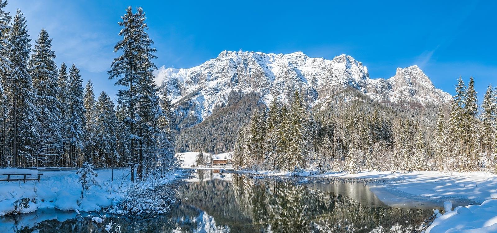 Winterwunderland in den Bayerischen Alpen