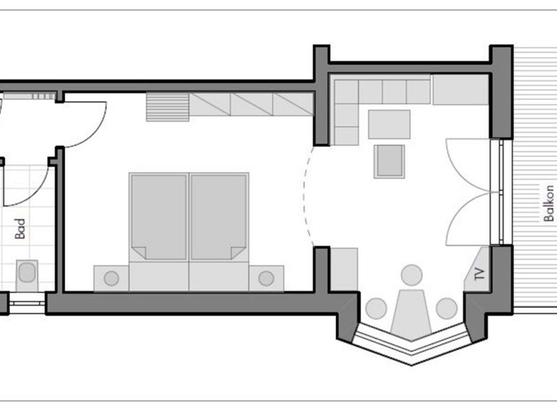 Doppelzimmer-Appartement