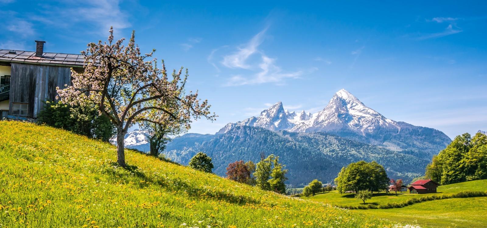 Berchtesgaden im Frühling